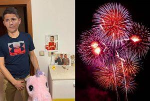 Mama Erika Kaliňáka žiada ,aby ste na Nový rok nepoužívali pyrotechniku, deti sa boja.