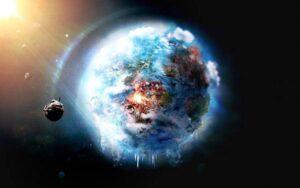 Na Zemi prebieha globálne ochladzovanie, pretože kvôli rúškam už do atmosféry nevydychujeme žiadne CO2.