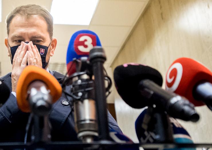 Vďaka Sulíkovi je Igor Matovič pozitívny na koronavírus.
