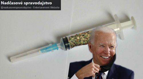 Biden plánuje pomocou legalizácie marihuanových kryštálov permanentné zabitie občanov USA
