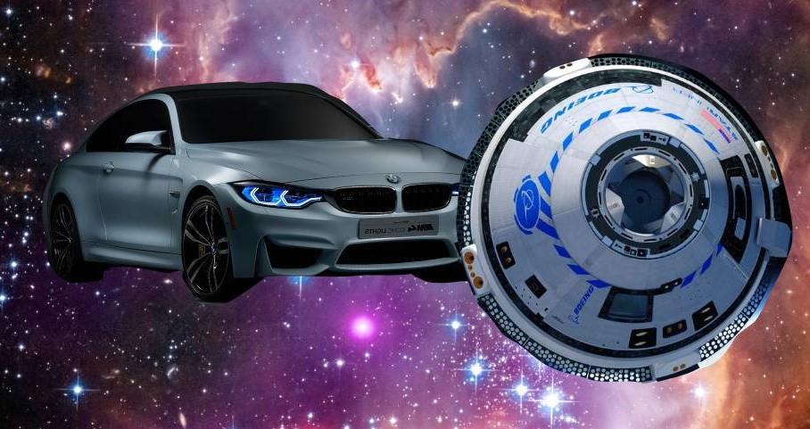Pri lete na mars sa za sondou objavilo BMW a snažilo sa sondu agresívne predbehnúť.