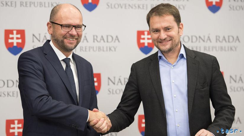Igor Matovič: Sulík je skvelý minister, jeho strana by mala mať viac rezortov. Sulík: to vy by ste mali všetko riadiť